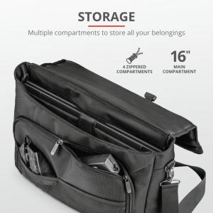 "Trust GXT1270 Bullet Messenger Bag 15.6""2"
