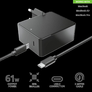 Trust Maxo 61W USB-C Charger for Macbook4