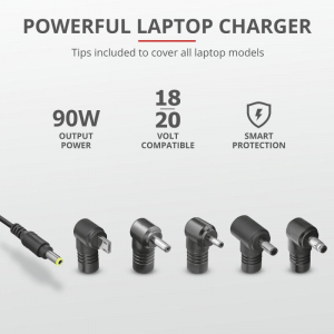 Trust Maxo 90W Laptop Charger for Asus4