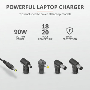 Trust Maxo 90W Laptop Charger for Dell4