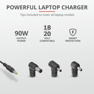 Trust Maxo 90W Laptop Charger for HP5