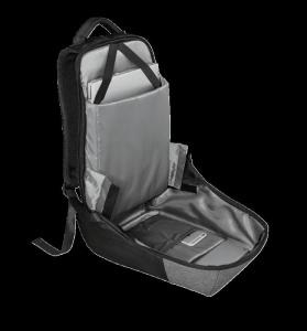 "Trust Nox Anti-theft Backpack 16"" Black [10]"