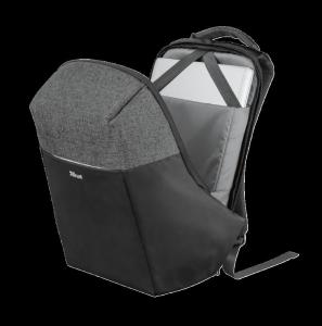 "Trust Nox Anti-theft Backpack 16"" Black [9]"