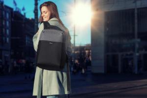 "Trust Nox Anti-theft Backpack 16"" Black [12]"