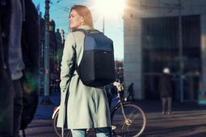 "Trust Nox Anti-theft Backpack 16"" Blue [10]"
