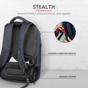 "Trust Nox Anti-theft Backpack 16"" Blue [6]"