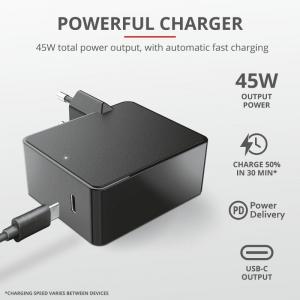 Trust Summa 45W Universal USB-C Charger4
