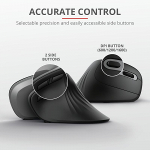 Trust Verro Ergonomic Wireless Mouse2