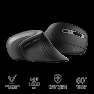 Trust Verro Ergonomic Wireless Mouse3