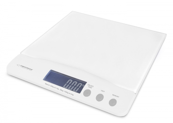Cantar pentru bebelusi 0-20 kg, copii si adulti de pana la 100 kg, afisaj LCD, sticla securizata, precizie 1g 1