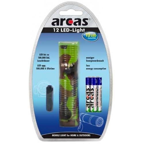 Lanterna ARC 12LEDM , HandLight, Arcas, Metalica [1]