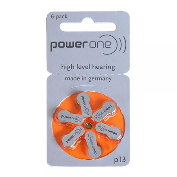 Set baterii Varta  speciale pentru aparate auditive model A13 0