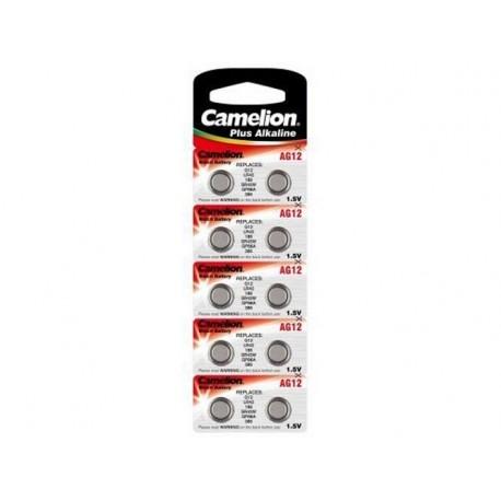 Baterii Alcaline Camelion AG12, blister de 10 buc, 1