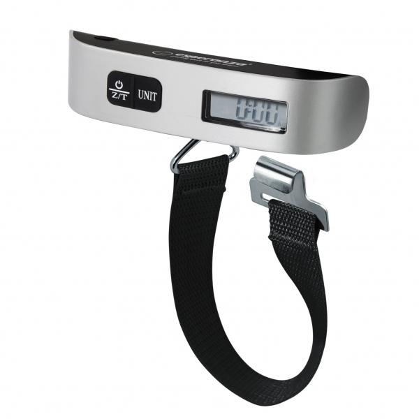 Cantar de bagaje precizie pana la 1g max. 50kg, cu ecran LCD, usor ideal calatorii, baterie CR2032 Cadou la fiecare comanda 0