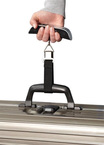 Cantar de bagaje precizie pana la 1g max. 50kg, cu ecran LCD, usor ideal calatorii, baterie CR2032 Cadou la fiecare comanda 1
