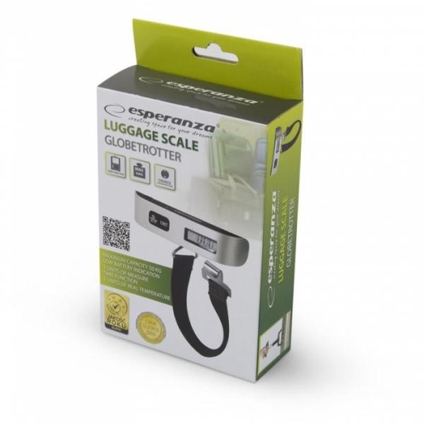 Cantar de bagaje precizie pana la 1g max. 50kg, cu ecran LCD, usor ideal calatorii, baterie CR2032 Cadou la fiecare comanda 4