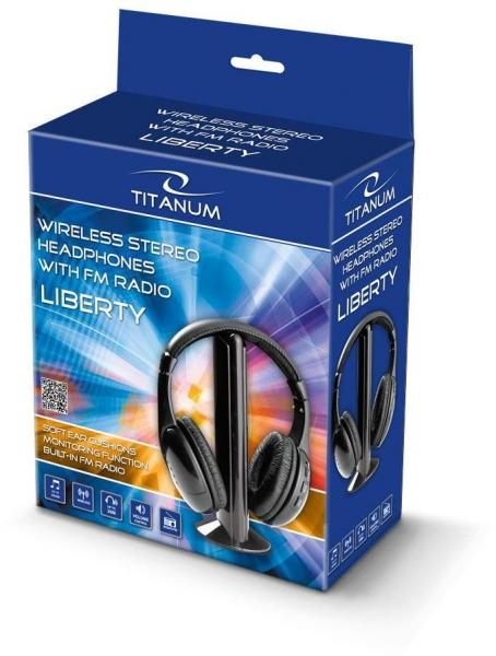 Casti wireless stereo, cu receptor radio incorporat FM, microfon incorporat, functie de monitorizare si control al volumului 1