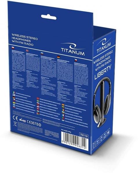 Casti wireless stereo, cu receptor radio incorporat FM, microfon incorporat, functie de monitorizare si control al volumului 2