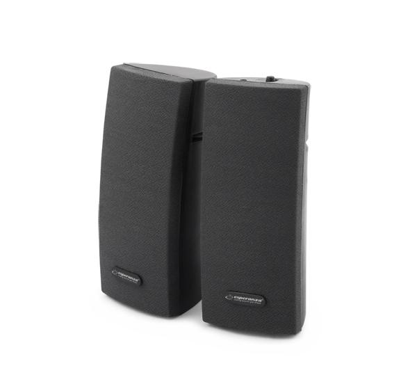 Boxe PC 2.0 Alto pentru laptop, calculatoare si alte dispozitive cu conexiune jack de 3,5 mm pentru casti, negru 3