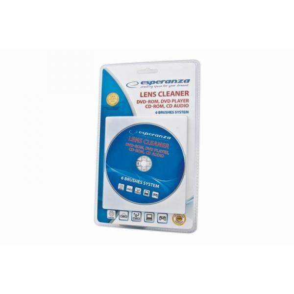 Cleaner CD/DVD curatare unitate cititor laser CD, DVD-player, DVD-ROM, CD Auto, Laptopuri, Calculatoare si alte dispozitive cu cititor optic 0