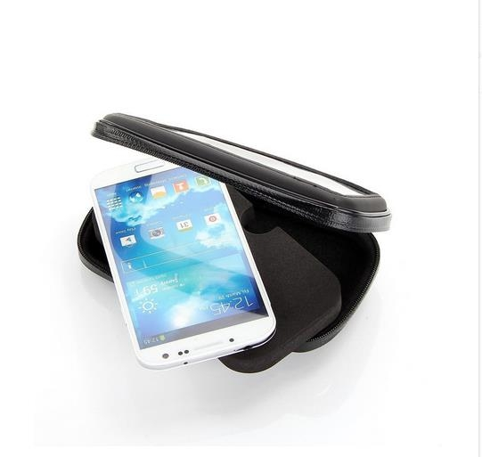 Suport Telefon pentru bicicleta si motocicleta, impermeabil, universal marimea  XL, rotatie 360 ° rezistent la  ploaie 1