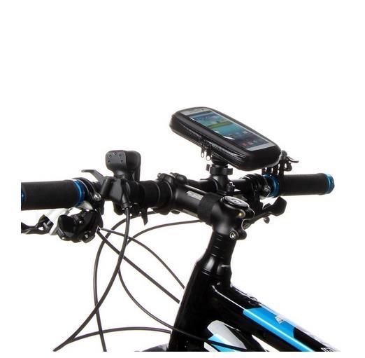 Suport Telefon pentru bicicleta si motocicleta, impermeabil, universal marimea  XL, rotatie 360 ° rezistent la  ploaie 3