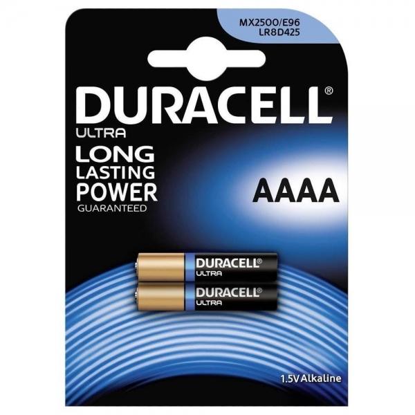 Baterie AAAA LR61 Duracell Ultra, 1.5V, alcalina, blister 2 buc [0]