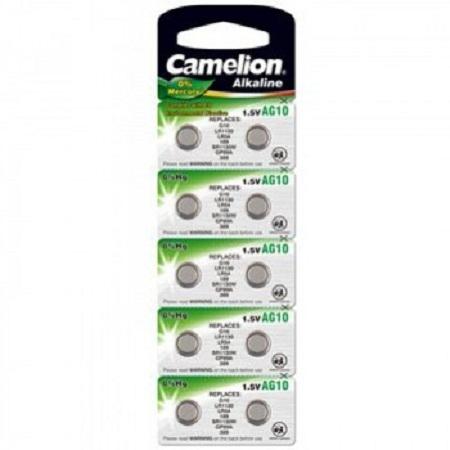 Baterii  AG10 Camelion, blister de 10 buc, AG Alcaline [0]