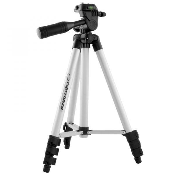 Trepied pentru fixare camera foto sau video, picioare telescopice reglabile, inaltime reglabila pana la 1060 mm [0]