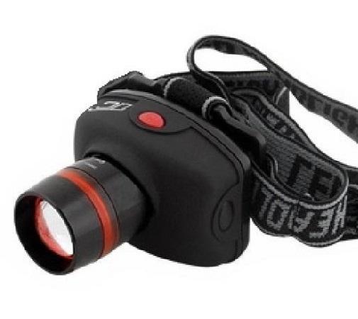 Lanterna de cap reglabila cu lupa si focalizare fascicul pana la 150 m distanta LED mare Superluminos cu Zoom 0