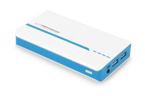 Acumulator extern Power bank  11000 mAh cu indicator pentru nivelul de incarcare, lanterna led si putere la indemana de 11000 mAh 0