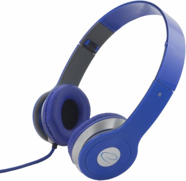 Casti stereo EH145  Blue de inalta calitate, cu control al volumului pe fir 0