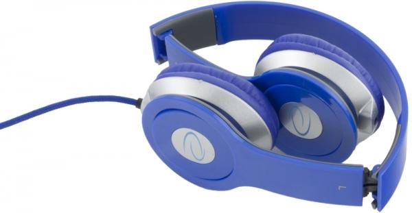 Casti stereo EH145  Blue de inalta calitate, cu control al volumului pe fir 2