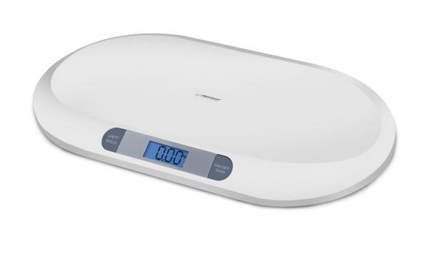 Cantar electronic pentru bebelusi cu ecran LCD si  precizie la nivel de grame 0