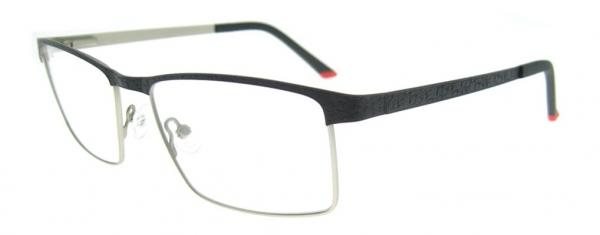 Rame de ochelari, model barbatesc, design modern, culoare - negru, include toc si laveta [0]