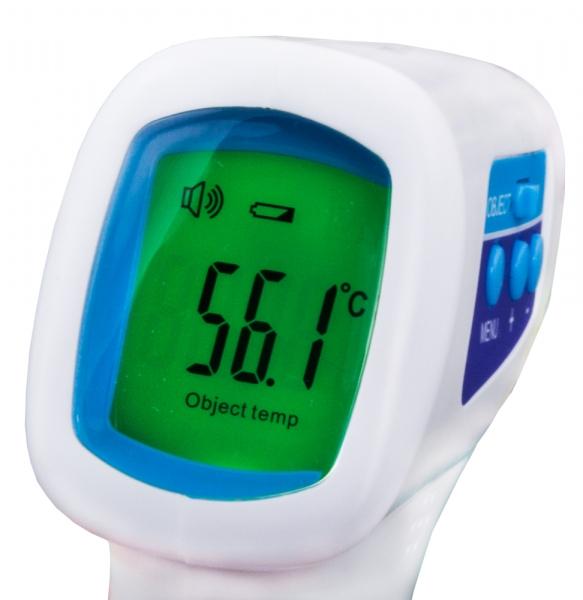 Termometru digital non contact Dr.Maria cu infrarosu pentru corp si alte suprafete, precis si igienic, 32 memorii ale temperaturilor 3