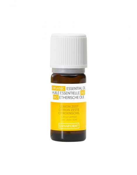 Ulei esential organic cu aroma de lamaie 100 % organic, anti-bacterian si purificator 1