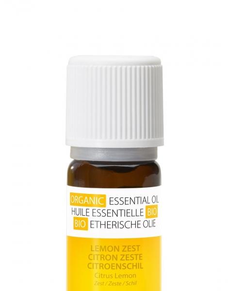 Ulei esential organic cu aroma de lamaie 100 % organic, anti-bacterian si purificator 2