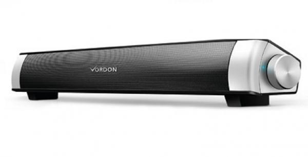 Soundbar Bluetooth 10W RMS cu microfon pentru apeluri telefonice, conectivitate 10m compatibila si cu televizoarele smart 0