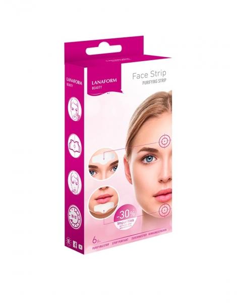 Plasturi Korea pentru curatare faciala, elimina impuritatile, curata porii din zona barbiei si a fruntii, 6 buc cutie [1]