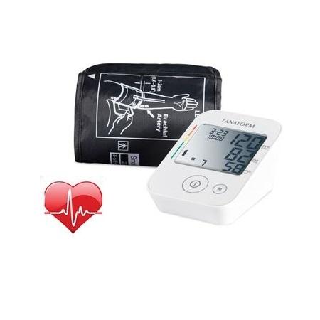 Tensiometru digital de brat cu detectare aritmie, precizie mare, afisaj LCD, complet automat, manseta 22-32cm Lanaform 4