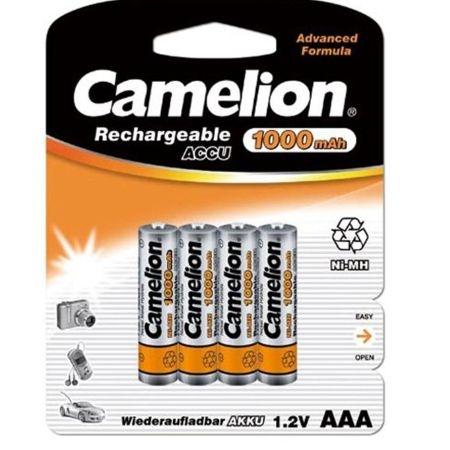 Acumulatori  R03 AAA, 1000 mAh,blister de 4 buc, Camelion 0