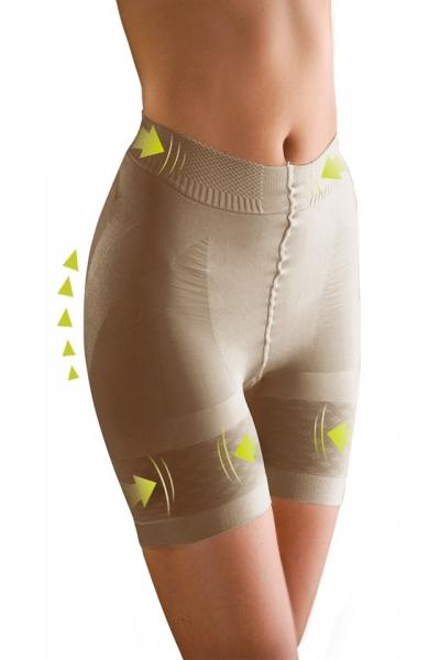 Colanti modelatori elastici Lanaform Beauty Shape bej cu talie normala, marime M 0