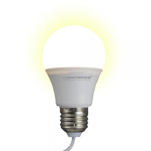 Bec cu LED lumina calda, alimentare la USB, 5W, lungime cablu 2.5m [2]