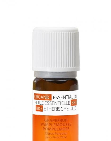 Ulei esential organic cu aroma de grapefruit 100 % organic, anti-bacterian, revigorant, ajuta digestia [2]