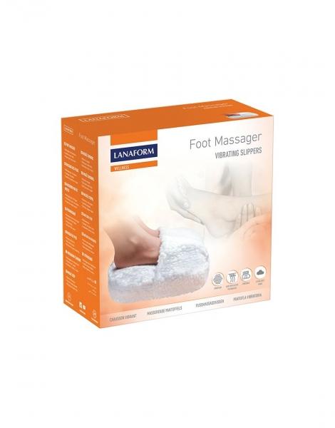 Aparat masaj pentru picioare cu vibratii si incalzire, material moale, confortabil 1