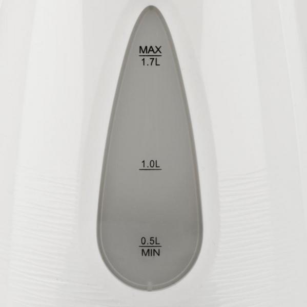 Cana electrica gradata Trevi - Geyser 1.7L, filtru detasabil, protectie supraincalzire, oprire automata, LED 2