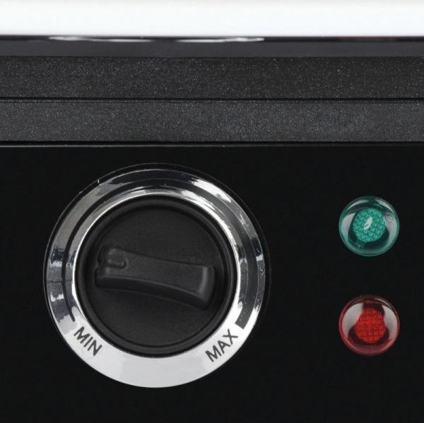 Gratar electric Trevi - Belgrill suprafata neaderenta 29 x 23 cm, adaptabil in 3 pozitii, temperatura reglabila 3