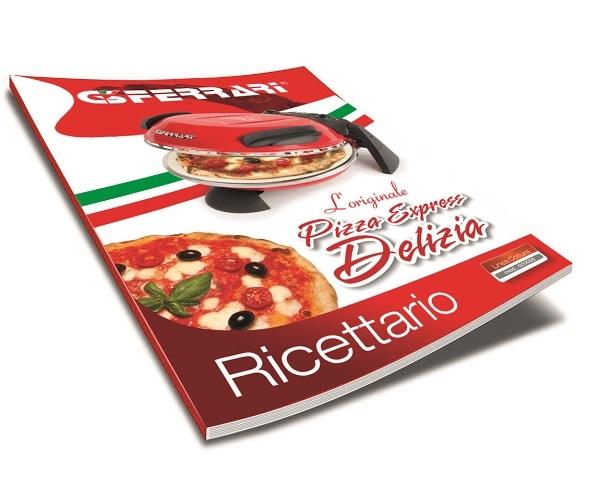 Cuptor pizza G3Ferrari Delizia special cu suprafata de coacere din piatra refractara, termoregulator pana la 390° C si timer cu atentionare sonora 5