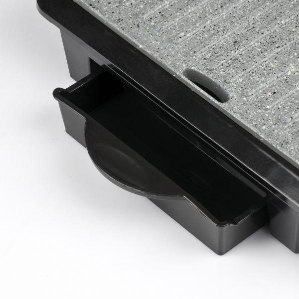Gratar electric Girmi - BS10 corp din otel inoxidabil, tehnologie Petravera, putere 1000W 1